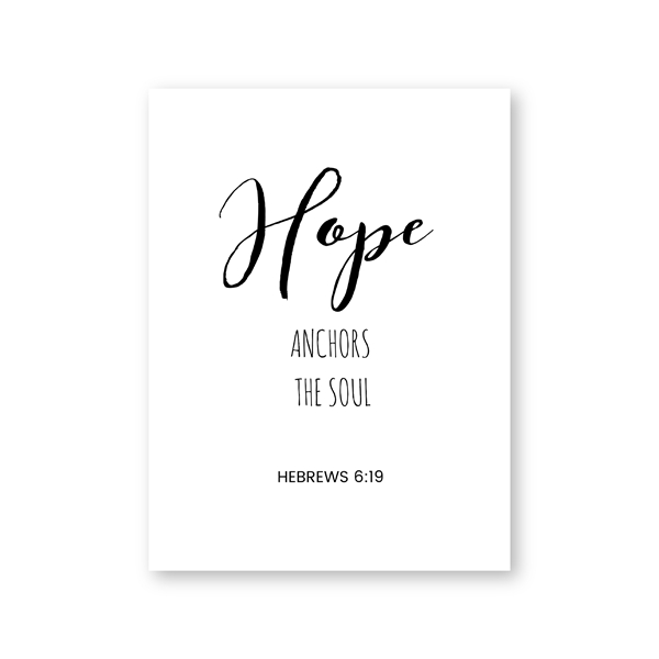 Bible Verses Typography Posters  Wall Art Decor