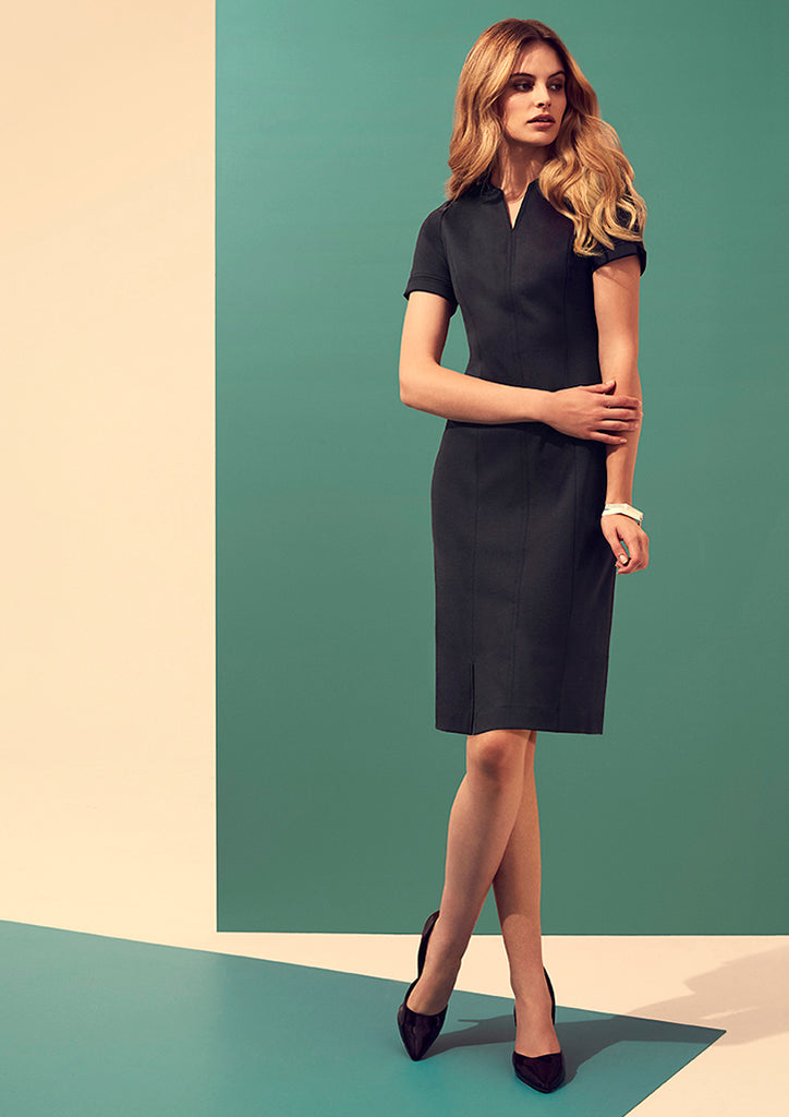WOMENS OPEN NECK DRESS
