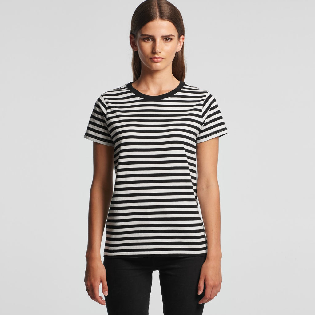 WO'S MAPLE STRIPE TEE