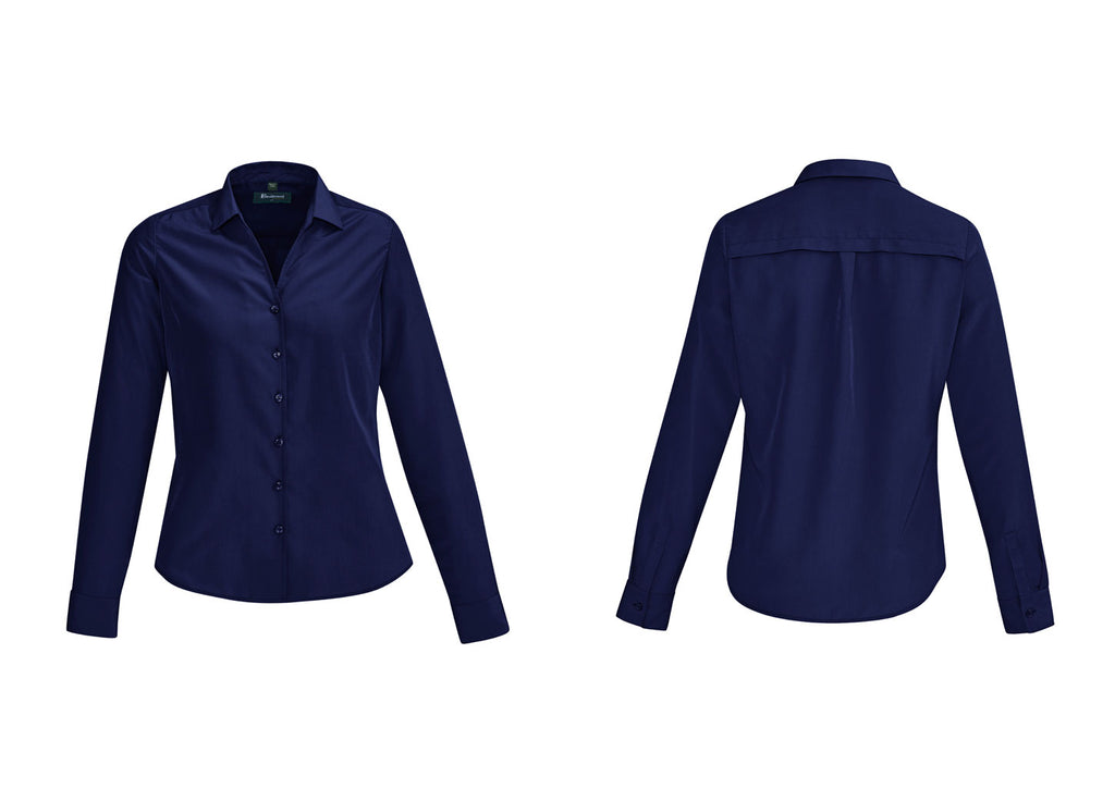 WOMENS SOLANDA PLAIN LONG SLEEVE SHIRT