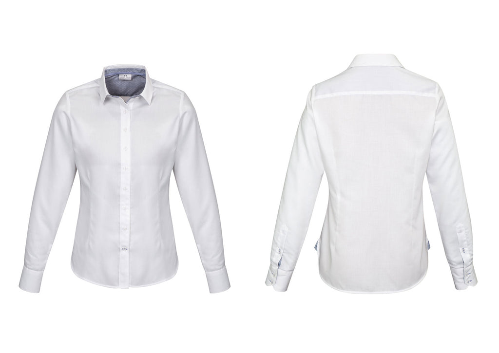 WOMENS HERNE BAY LONG SLEEVE SHIRT