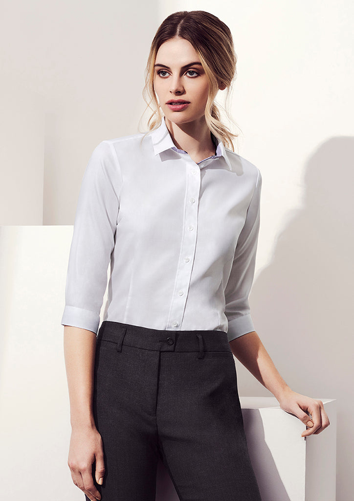 WOMENS HERNE BAY 3/4 SLEEVE SHIRT