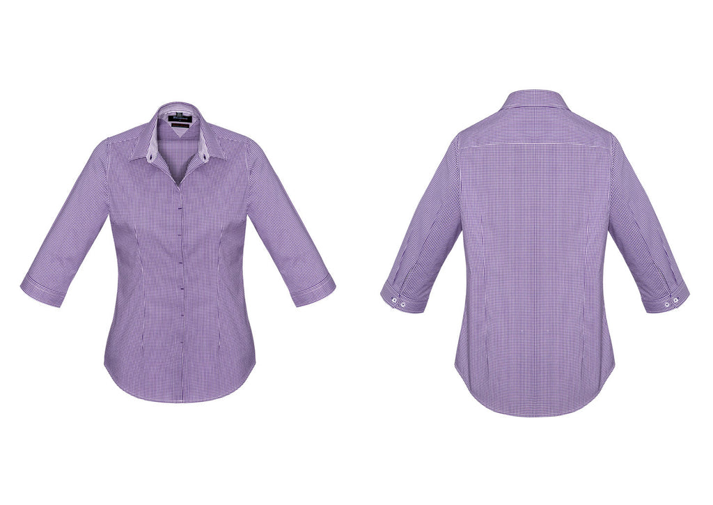 WOMENS NEWPORT 3/4 SLEEVE SHIRT