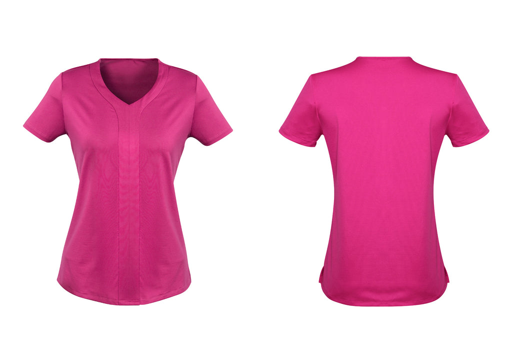 WOMENS ADVATEX MAE SHORT SLEEVE KNIT TOP