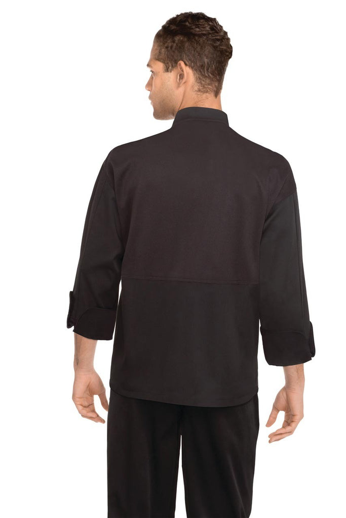 New Yorker Black Cool Vent Chef Jacket