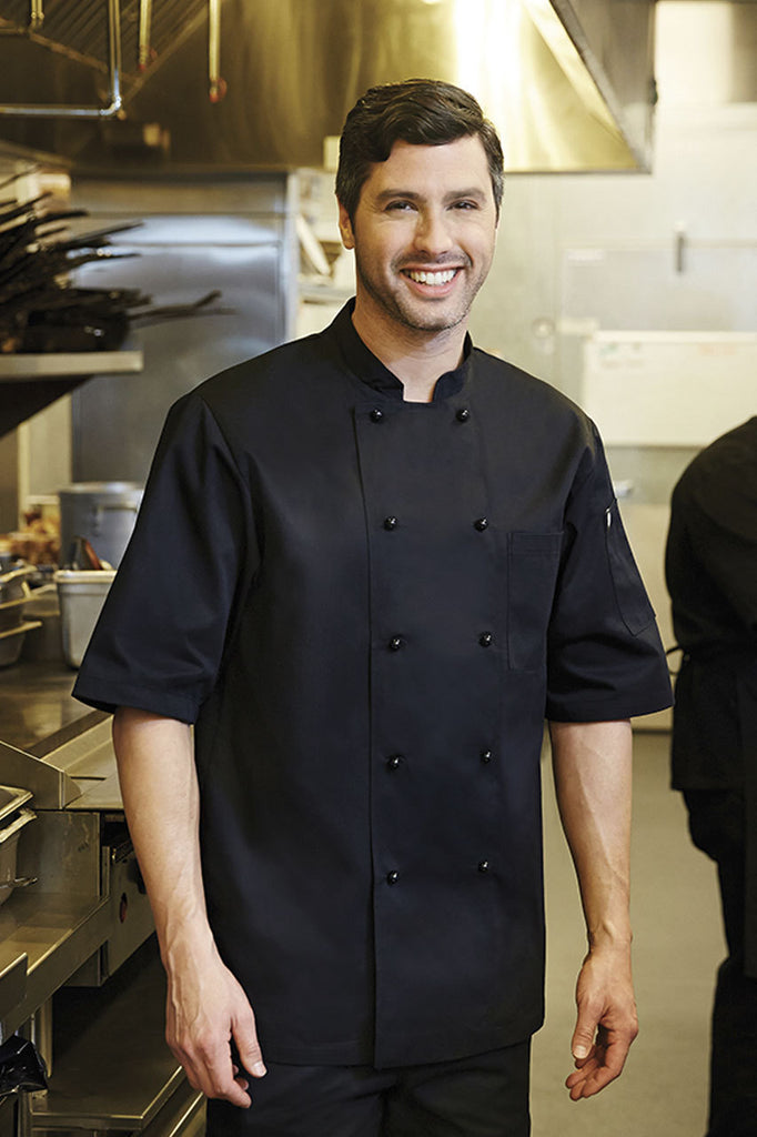 Canberra Black Basic Chef Jacket