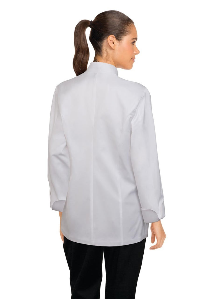 Elyse Women's 100% Cotton Chef Jacket