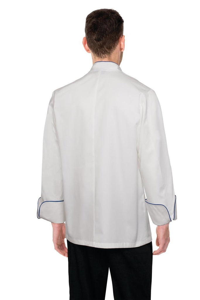 Bali White 100% Cotton Chef Jacket