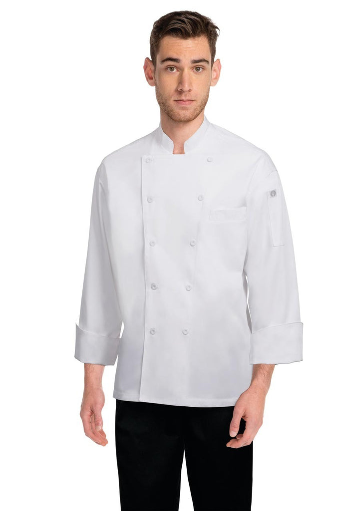 Lyon White Executive Chef Jacket