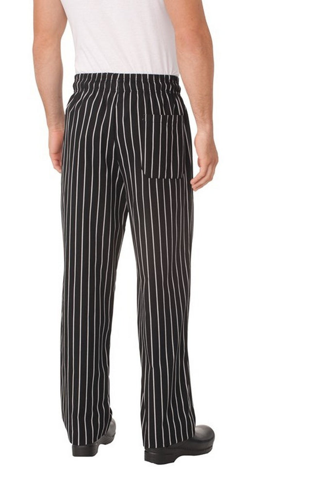 Chalkstripe Baggy Chef Pants
