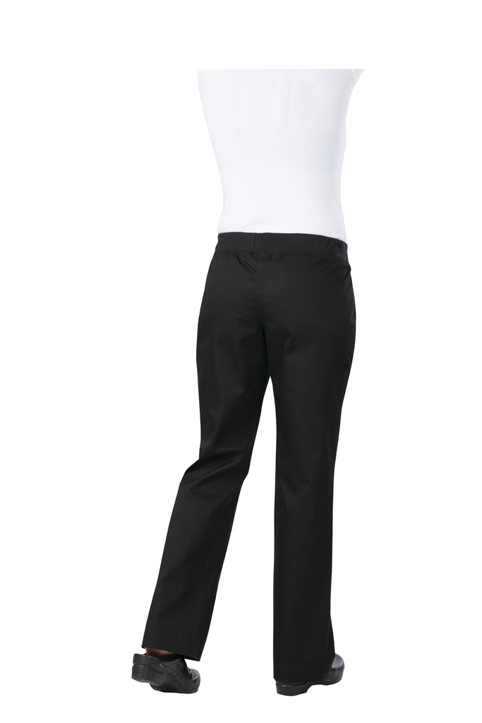 Womens Black Lightweight Slim Pants