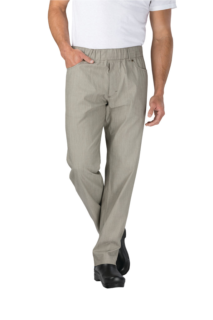 Vertical Stripe Chef Pants