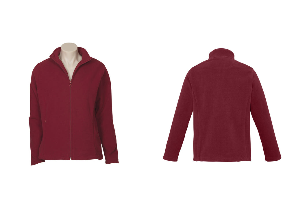 LADIES PLAIN MICRO FLEECE JACKET