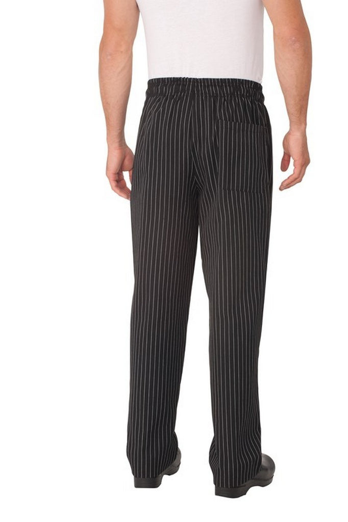 Designer Pinstripe Baggy Chef Pants