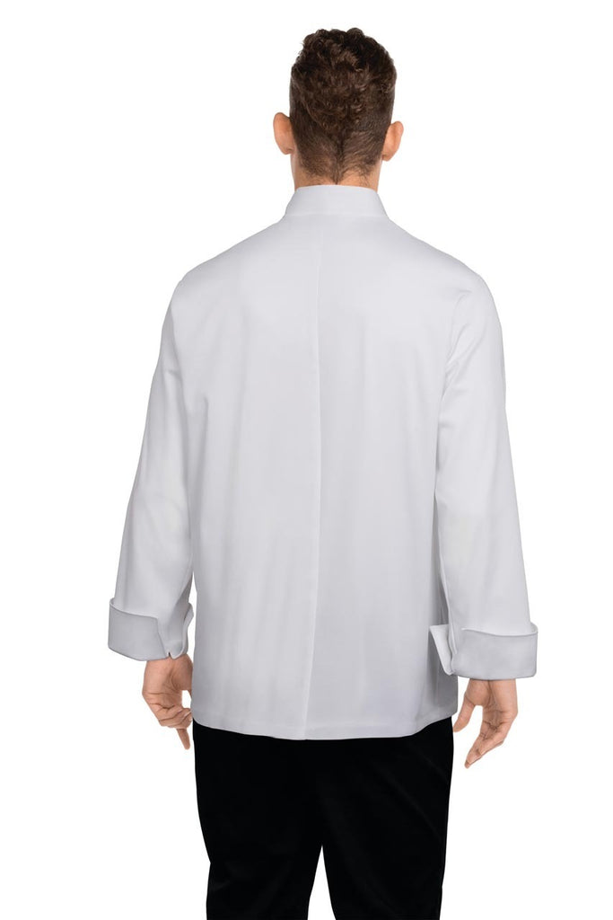 Bordeaux White Chef Jacket