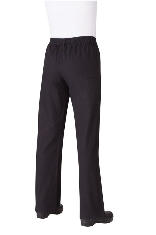 Professional Women's Black Chef Pants