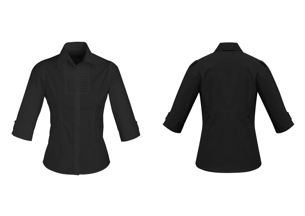 LADIES BERLIN 3/4 SLEEVE SHIRT