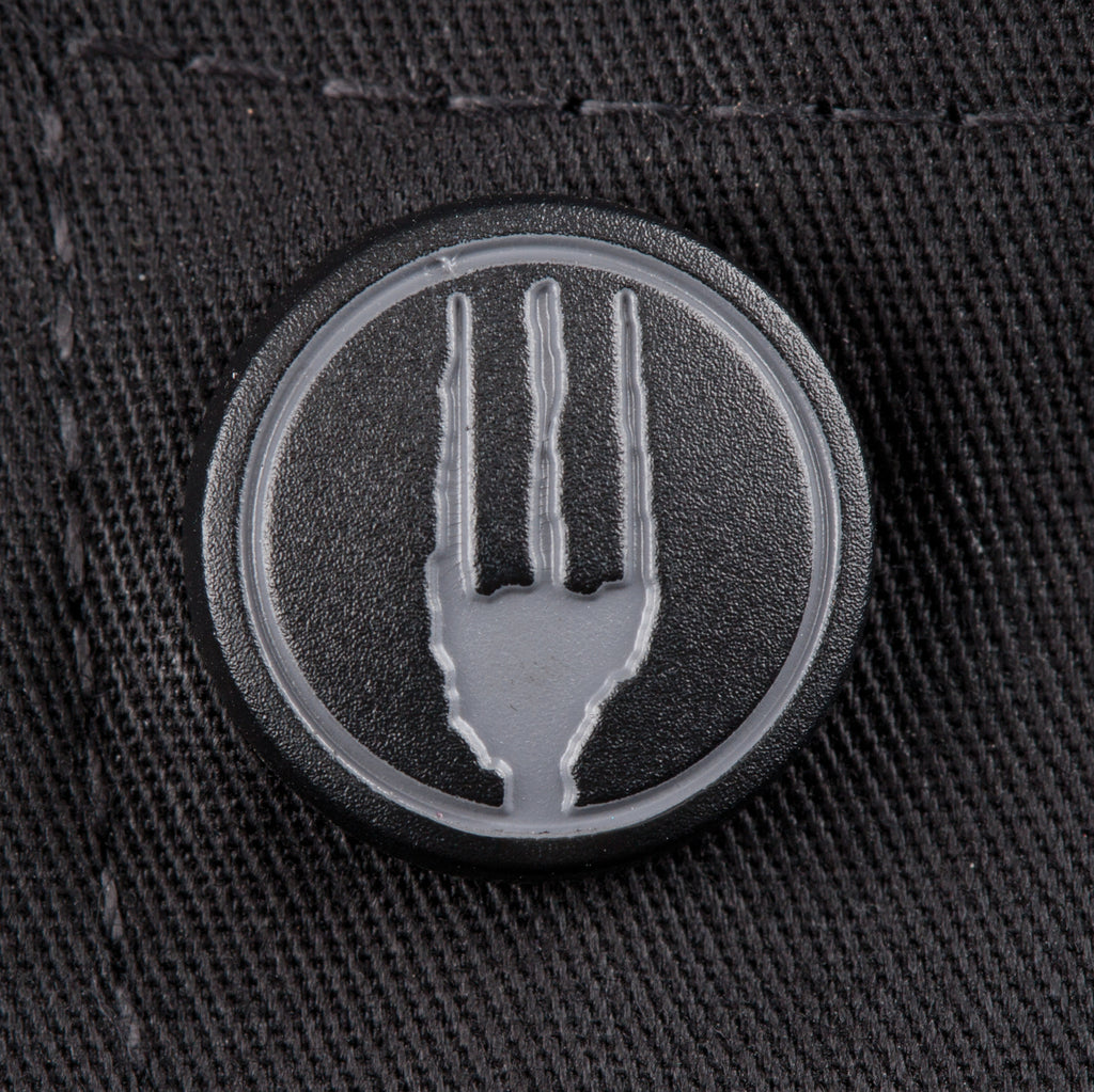 Valais Black V-Series Chef Jacket