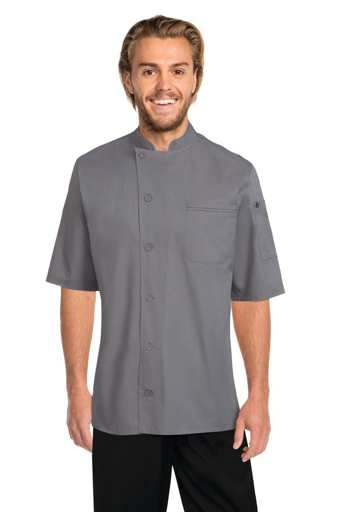 Valais Grey V-Series Chef Jacket