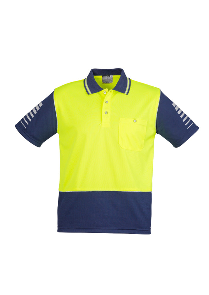 MENS HI VIS ZONE POLO