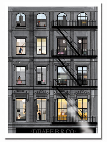 Soho Fire Escapes