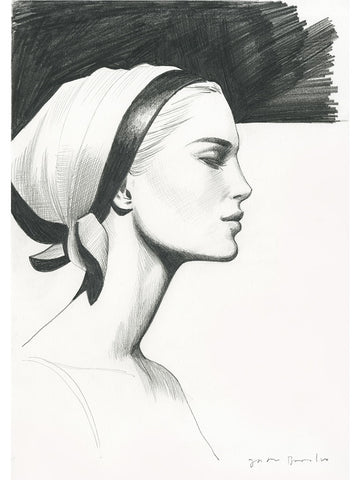 Profile with Headscarf