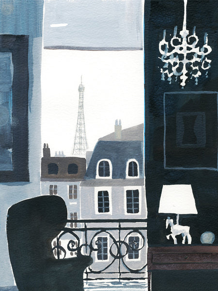 Paris Sketchbook : Paris Interior