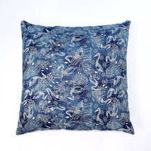 Load image into Gallery viewer, Recycled Fabric Pillow/Cushion Covers (Various Designs)