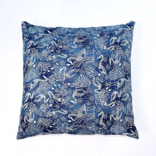 Recycled Fabric Pillow/Cushion Covers (Various Designs)