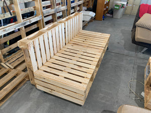 Custom Pallet Lounges Chairs Sofas (Per Seat)