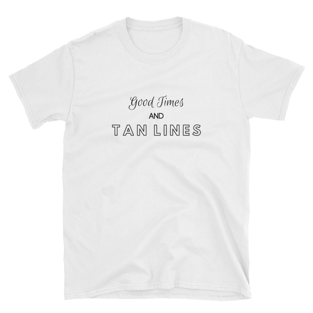 302907be 'Good Times and Tan Lines' Unisex T-Shirt – OceanTidePride