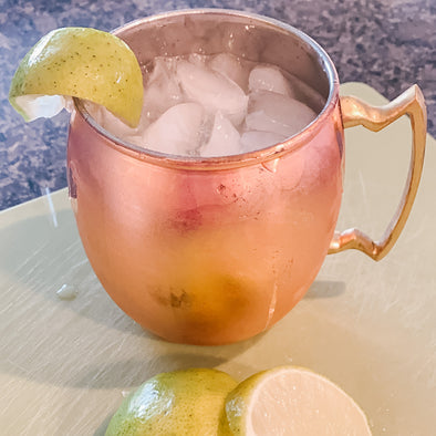 A Moscow Mule with a unique twist!