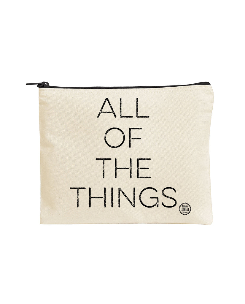 Large Zipper Pouch - All of the Things