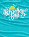 Beaches & Booze Ladies Flowy Tank