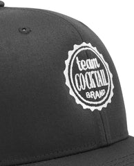 Team Cocktail Logo Black & White Classic Snapback