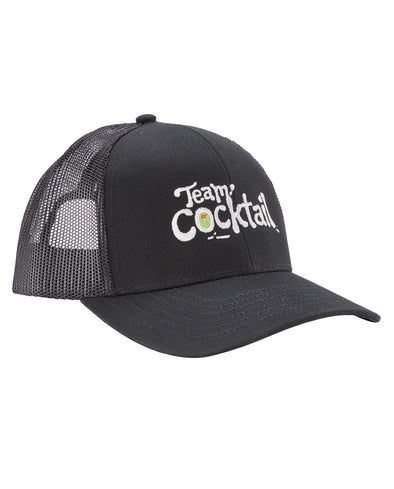 Team Cocktail Logo Trucker Hat