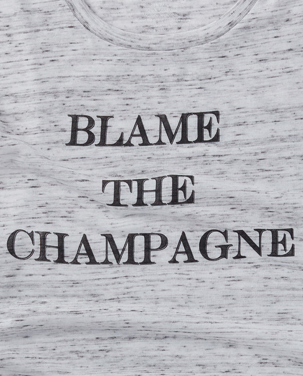 Blame the Champagne Tank