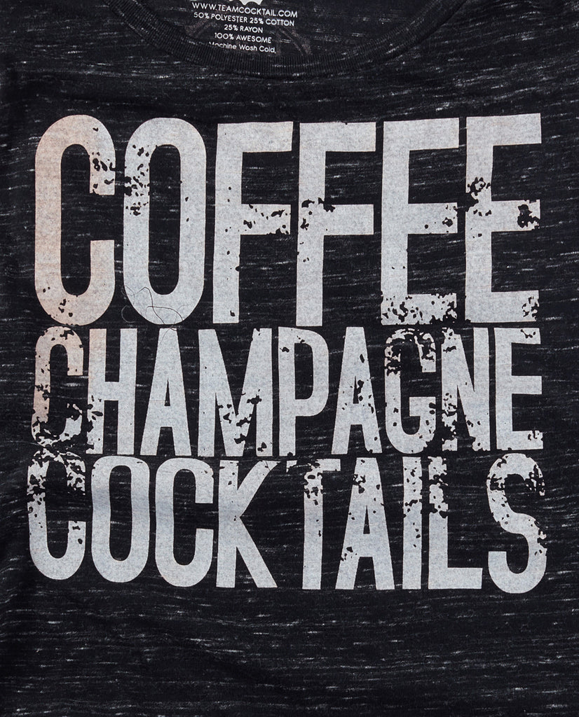 Coffee Champagne Cocktails Tank