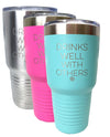 Drinks Well With Others 30oz Tumbler