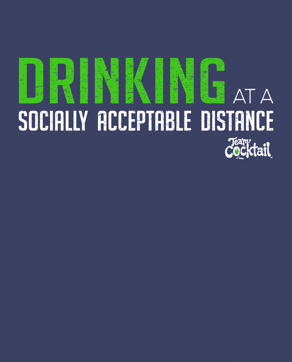 Social Distance Drinking Unisex Tee