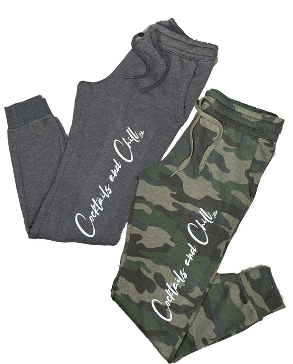 Cocktails and Chill Ladies Fleece Joggers