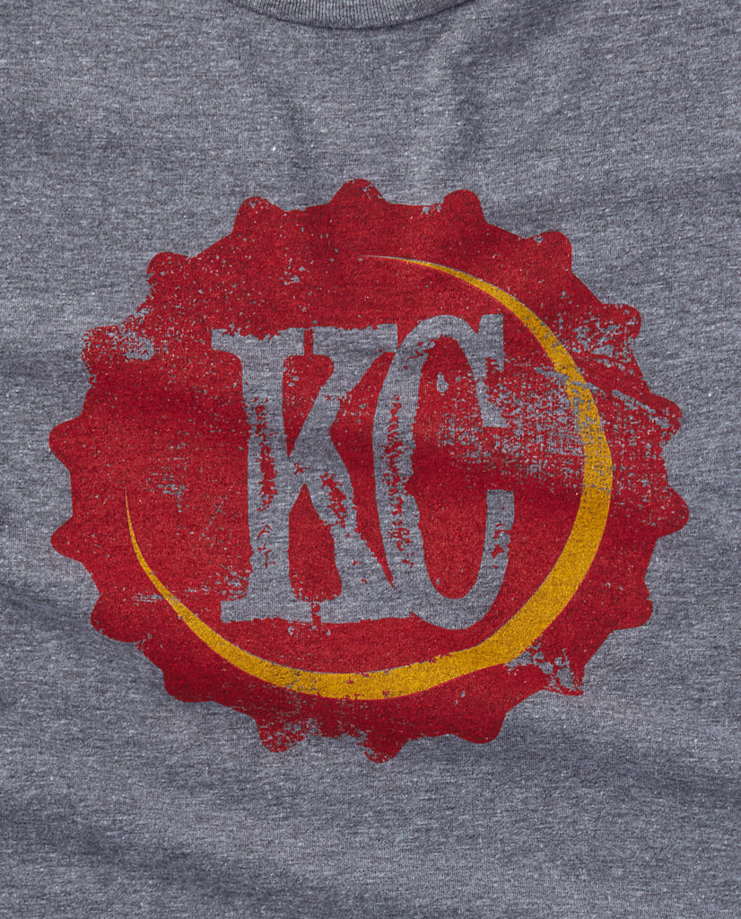 KC Bottle Cap Tee Red