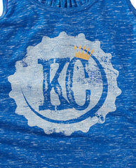KC Bottle Cap Blue Racer Tank