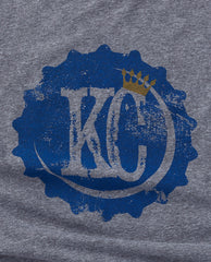KC Bottle Cap Tee Blue