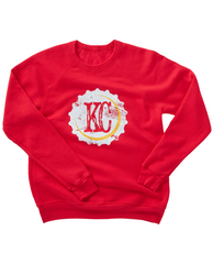 KC Bottle Cap Sweatshirt Red
