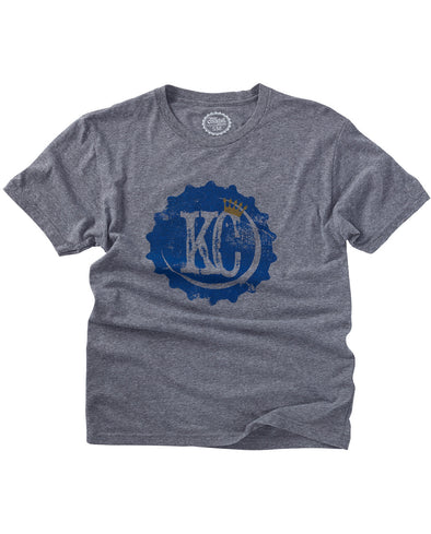 (Royals) KC Bottle Cap Tee