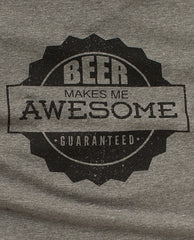 Beer Awesome - Pop Top Tee