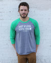St. Patrick - Shut Up Liver Baseball Tee