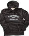 Team Cocktail Drinking Club Distressed Hoodie