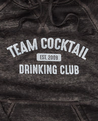 Team Cocktail Drinking Club Washed Hoodie